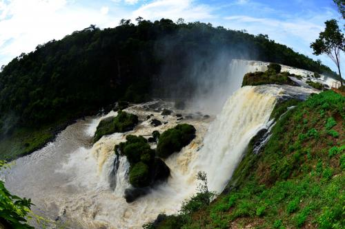 Photo of the Iguacu Falls